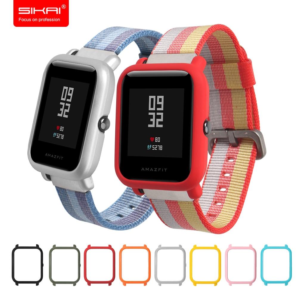 Чехол SIKAI для Xiaomi Amazfit Bip BIT PACE Lite Youth Watch, чехол, защитный чехол для Xiaomi Amazfit, чехол для смарт часов