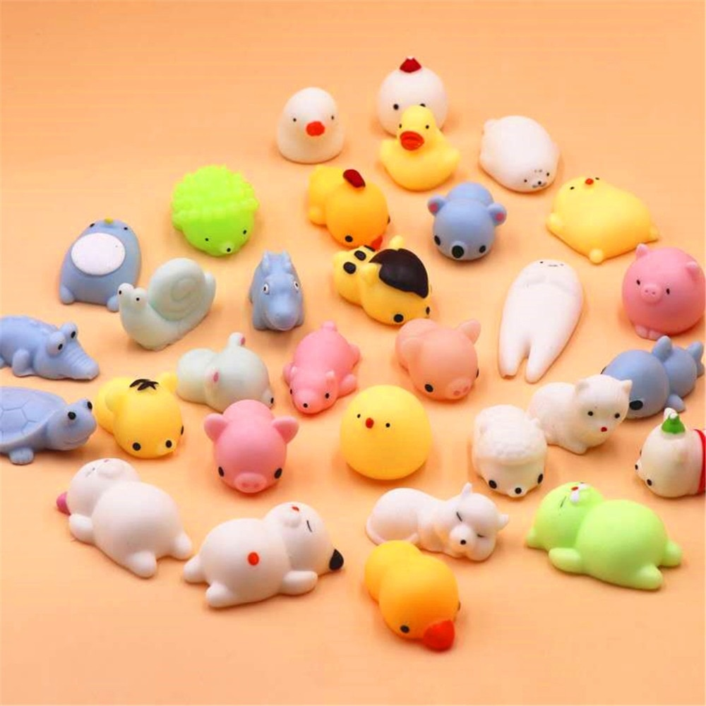 Mini Change Color Squishy Cute Cat Antistress Ball Squeeze Rising Abreact Soft Sticky Stress Relief Toys Funny Gift mochi Toys