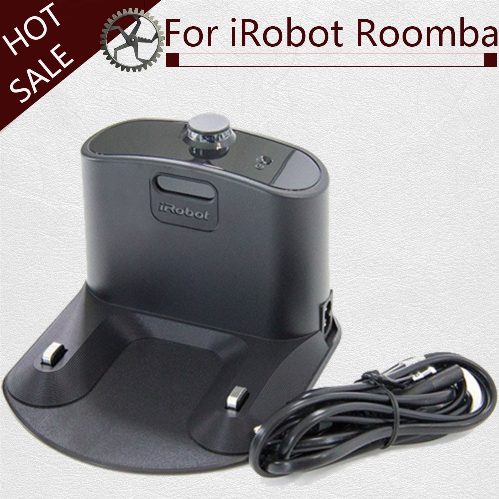 Base de carregamento para IRobot Roomba 550 595 620 630 650 660 760 770 780 500 600 700 Series Vacuum Cleaner Robotic Partes Carregador