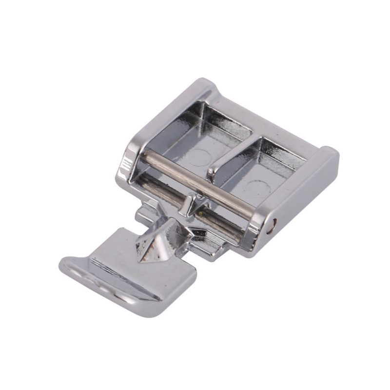 Prensatelas de Metal con cremallera para máquina de coser a presión Brother cantante Janome accesorio de costura 2018