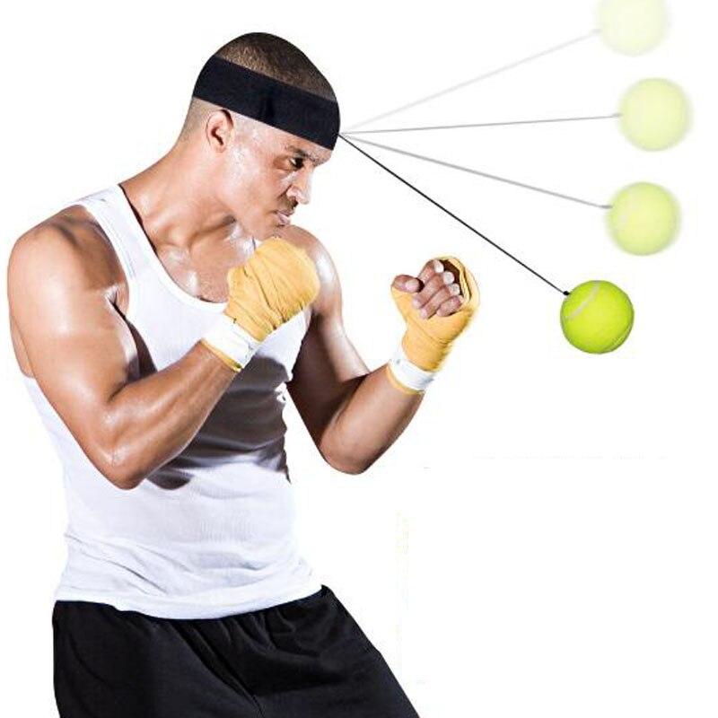 Boxe boxe entraînement vitesse balle Tennis Punch Fitness réflexe vitesse balle Muay Thai sport équipement