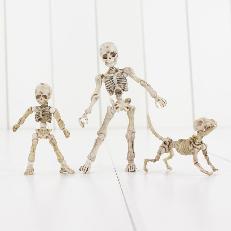 Поза Скелет режим ПВХ фигурка игрушка человека ребенка собака Скелет тела Чан тело Кун