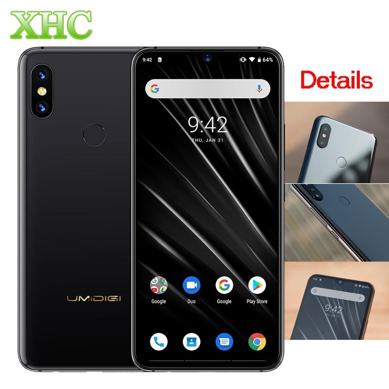 "Global 4G UMIDIGI S3 Pro Android 9,0 teléfono móvil 48MP + 12MP + 20MP 5150mAh Super Power 128GB 6GB 6,3 ""FHD + NFC Dual SIM Smartphone"