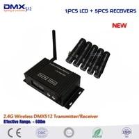 dhl free shipping 2 4g wireless dmx512 controller new wireless dmx 126 channels controller for stage dj disco club light