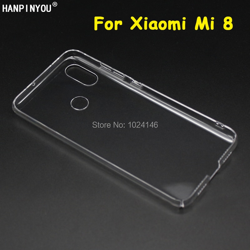 New Slim Crystal Transparent Hard PC Back Protective Case DIY Cover Protection Skin Shell For Xiaomi