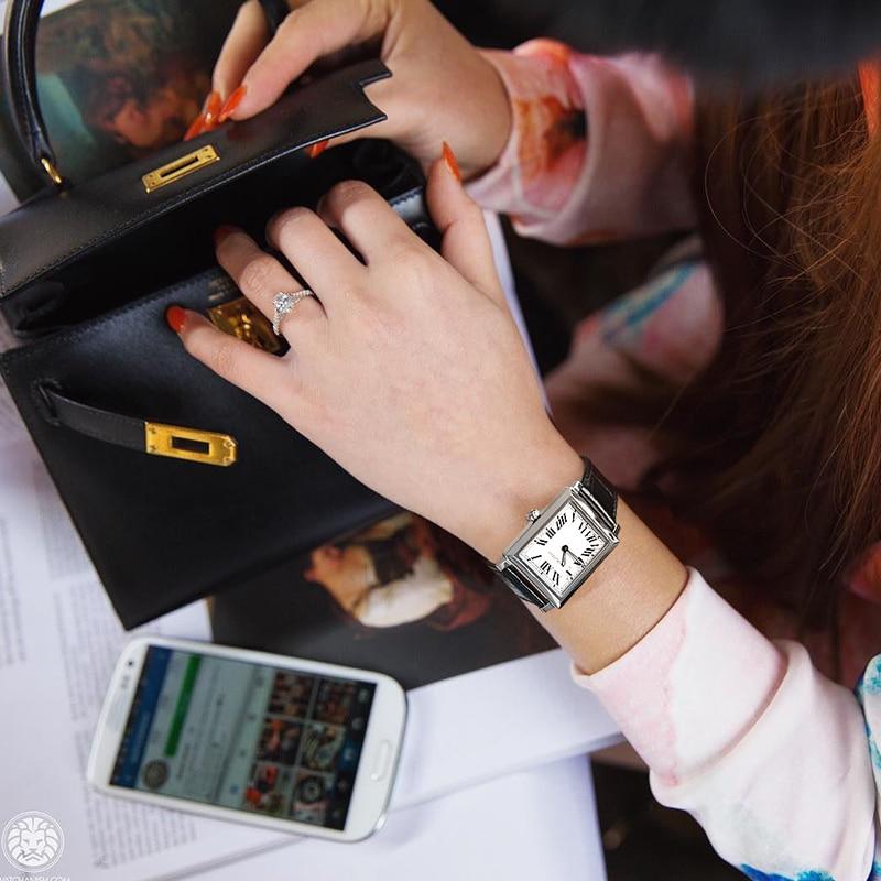 Swiss Luxury Brand Agelocer Watches Women Quartz Watch Female Clock Slim Roman Numerals Ladies Wristwatches With Gift Box enlarge