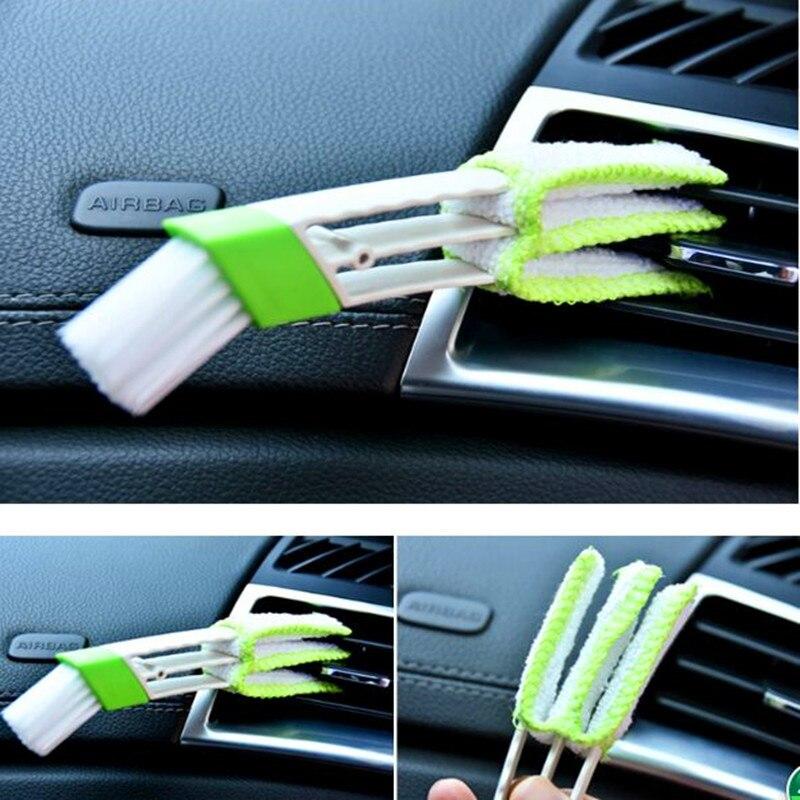 Щетка для чистки автомобиля с двойной стороной для Audi A3 A1 A5 A6 A8 A7 A4 B6 B8 B5 B6 B7 C5 80 A7 Q3 Q5 Q7 TT R8 A4L A8L A6L RS R8 sline