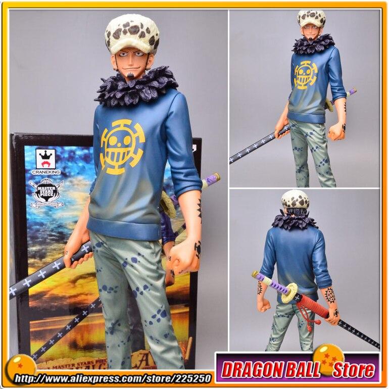 Японское аниме «One Piece» Оригинал BANPRESTO Master Stars Piece / MSP Series Figure - THE TRAFALGAR.LAW SPECIAL VER.