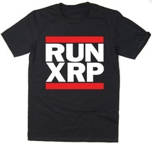 Date 2019 T Shirt hommes T-Shirt course XRP-ondulation T-Shirt-course DMC Spoof-crypto-monnaie Bitcoin BTC Mining T-Shirt