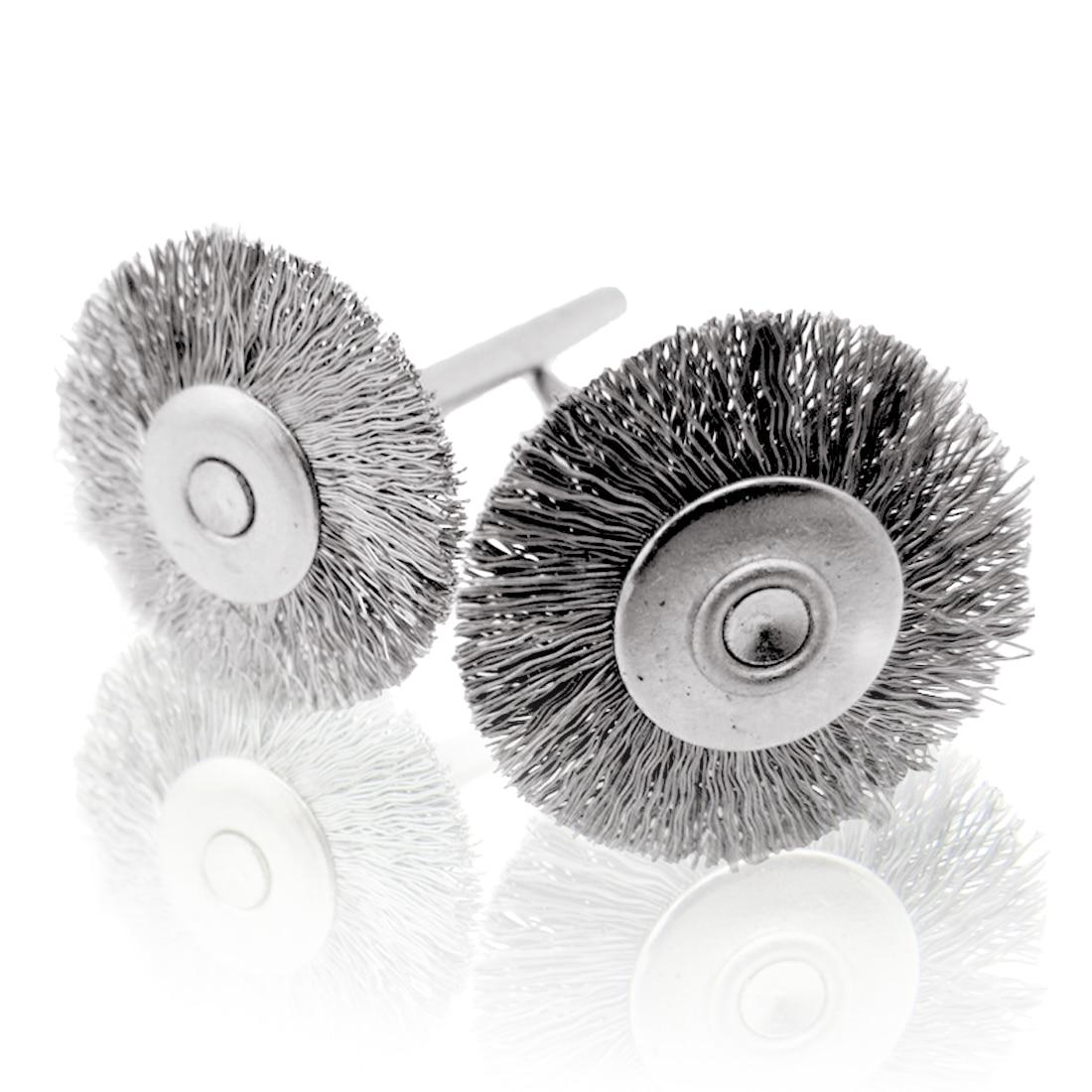 Accessori Dremel 16 pezzi set di spazzole per ruote in filo di - Utensili abrasivi - Fotografia 3
