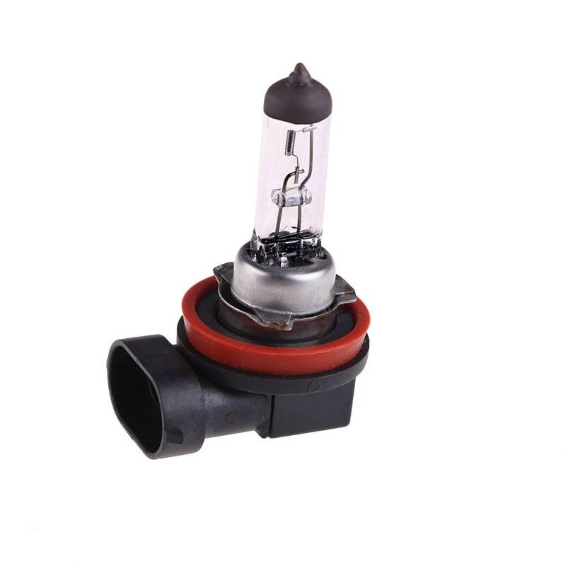 2 uds H11 bombilla halógena antiniebla blanca cálida 55W luz delantera de coche lámpara 12V 3000K 1 bombilla de niebla de coche faro Dropshipping