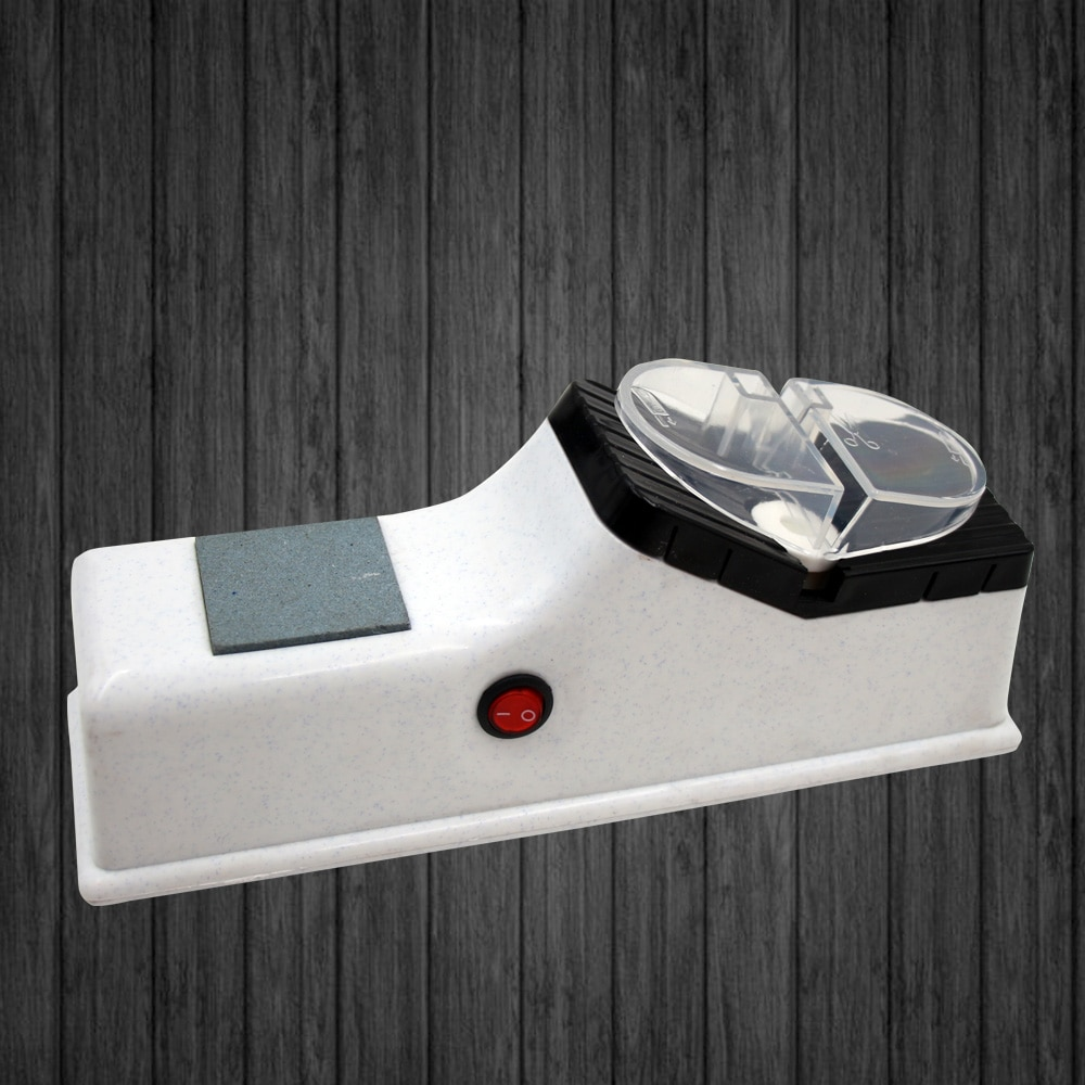 Apontador de faca elétrica profissional cozinha afiar pedra moedor facas pedra amolar tungstênio diamante cerâmica ferramenta apontador