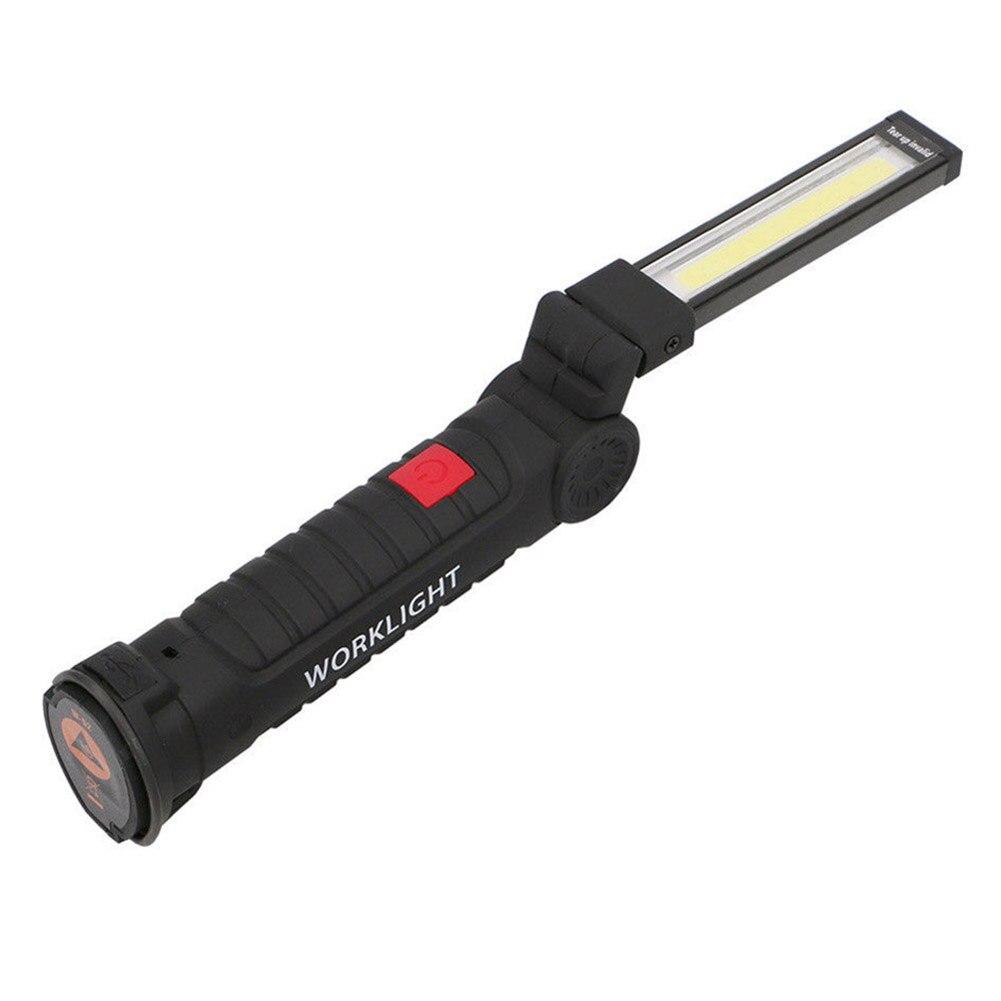 Linterna de COB magnético recargable con foco LED, lámpara de inspección manual, herramienta de luz de trabajo inalámbrica M8617