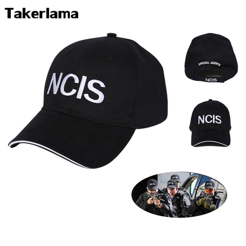 2017 NCIS Cap Embroidery Hat Special Agents Logo Hat Naval Criminal Investigative Service Movie Cap Adjustable Baseball Cap Hat