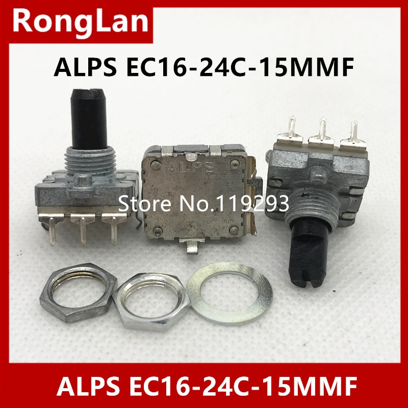 [BELLA]Imported Japan ALPS encoder encodes switch EC16-24C-15F digital audio switch potentiometer--10PCS/LOT