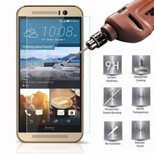 Verre trempé Pour HTC One M8 M7 M9 A9 X9 E8 Pour HTC Desire 601 616 620 626 816 820 830 10 M10 Protecteur Décran coques de téléphone Film