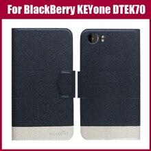 Offre spéciale! BlackBerry KEYone DTEK70 étui nouveauté 5 couleurs mode Flip Ultra-mince en cuir housse de protection coque de téléphone