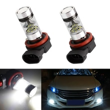 2x H11 H8 3030 SMD LED brouillard DRL ampoule lampe pour Honda civic fit accord Crider crv