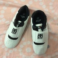 Unisexe Mooto taekwondo chaussures enfants adulte Mooto taekwondo chaussures taille de 26,27 à 44, 45 blanc hommes sport taek won do chaussures