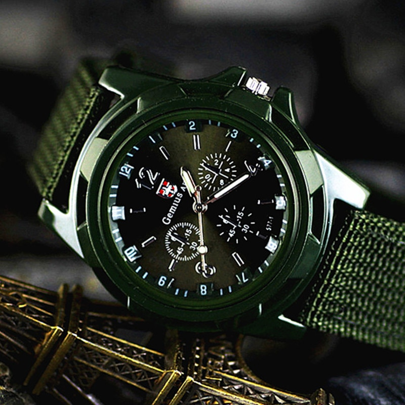 Army soldier military Watches Men Casual Nylon Strap Outdoor Quartz Watch Dress Sport Clock Male Wristwatch Relogio masculino military watches for men outdoor sports nylon quartz watch 2021 male fashion casual wristwatch male clock relogio masculino hot