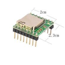Fast Free Ship 5PCS/LOT JQ8900-TF Voice Module MP3WAV Decoding Serial Port Control MP3 Module General Voice Module