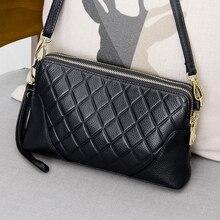Or corail véritable cuir femmes sacs de messager sac à bandoulière femme mode sacs à bandoulière pour femmes embrayage petits sacs à main