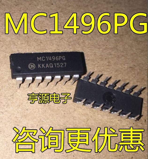 Nuevo MC1496 MC1496P MC1496PG vertical DIP14 equilibrado módems