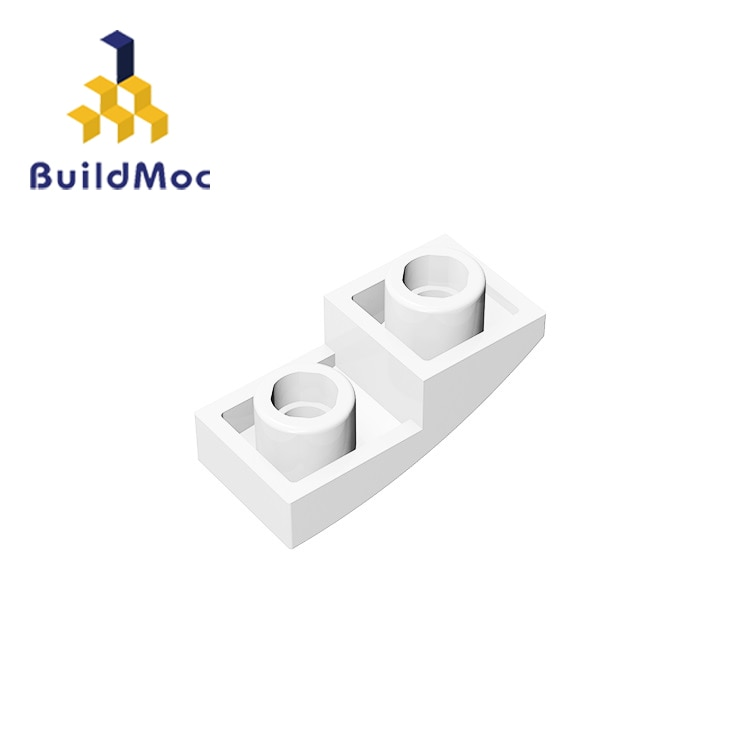 Buildmoc Compatibel Assembleert Deeltjes 24201 1X2 Voor Bouwstenen Diy Logo Educatief High-Tech Spare Speelgoed