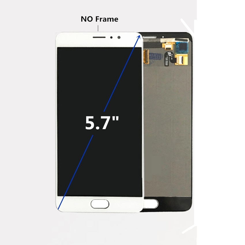 For Meizu Pro6 PLUS LCD Display+Touch Screen With Frame For Meizu PRO 6 PLUS Lcd Display  Accessories Replacement enlarge
