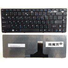 RU Black New FOR ASUS B43 B43A B43S B43V B43JR P43SJ P42J P42Z X45A X85V X45C X45U X45VD X45VD1  Laptop Keyboard Russian