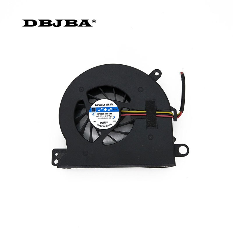 CPU Laptop Cooling fan cooler para Toshiba Qosmio F50 F55 F55-Q502 AB7505HX-SB3 Ventilador BSB0705HC-9C2T