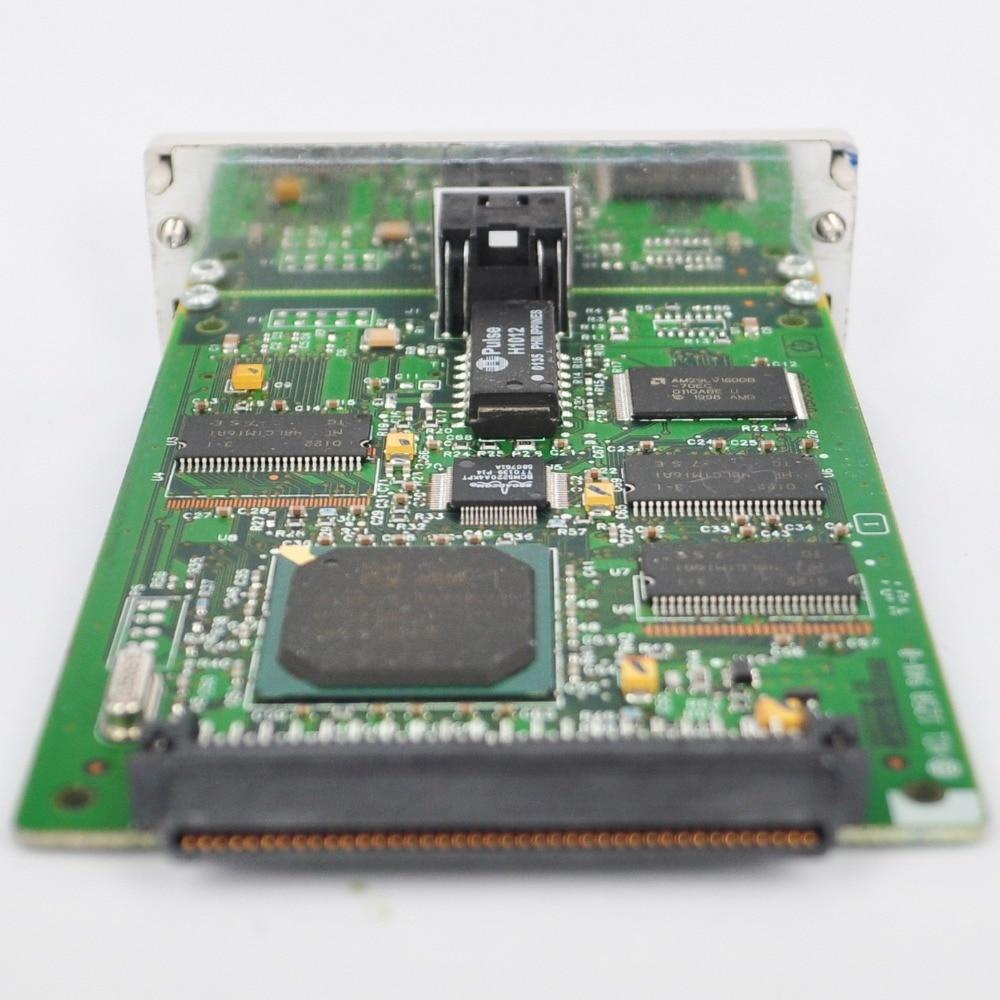 Jetdirect 620n substituir para 610n j4169a placa de rede rápido ethernet servidor impressão RJ-45 10/100tx para hp impressora