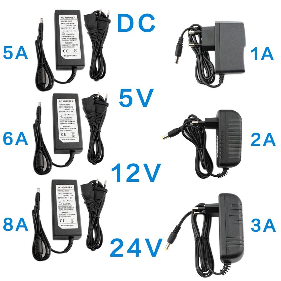 ac dc 5 12 24 v volt power supply adapter transformers 220v to 5v 9v 12v 24v led power supply adjustable 1a 2a 3a 5a 10a driver DC 5V 12V 24V Power Supply Adapter 1A 2A 3A 5A 6A 8A AC DC Transformers 220V To 12V 5V 24V Power Supply Adapter 5 12 24 V Volt
