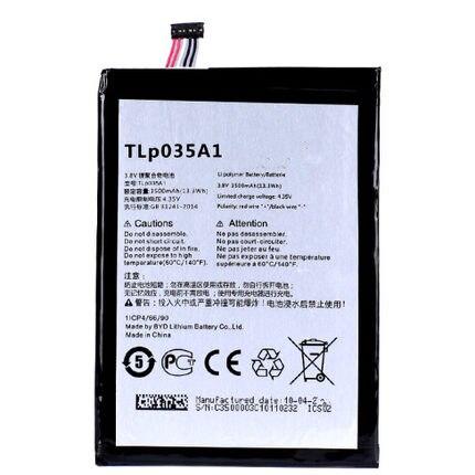3,8 V 3500 mAh TLp035A1 para CMCC N823 N1 máximo de la batería