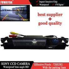 FUWAYDA Factory selling Wide HD SONYCCD Night Vision Car Reverse Camera Rear View Parking Sensor 12V for Toyota Yaris 2006 -2012