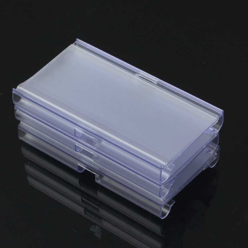 10 pces 60*40mm/80*40mm pvc claro preço etiqueta sinal de plástico titular exibição espessamento para prateleira da loja gancho rack ou supermercado