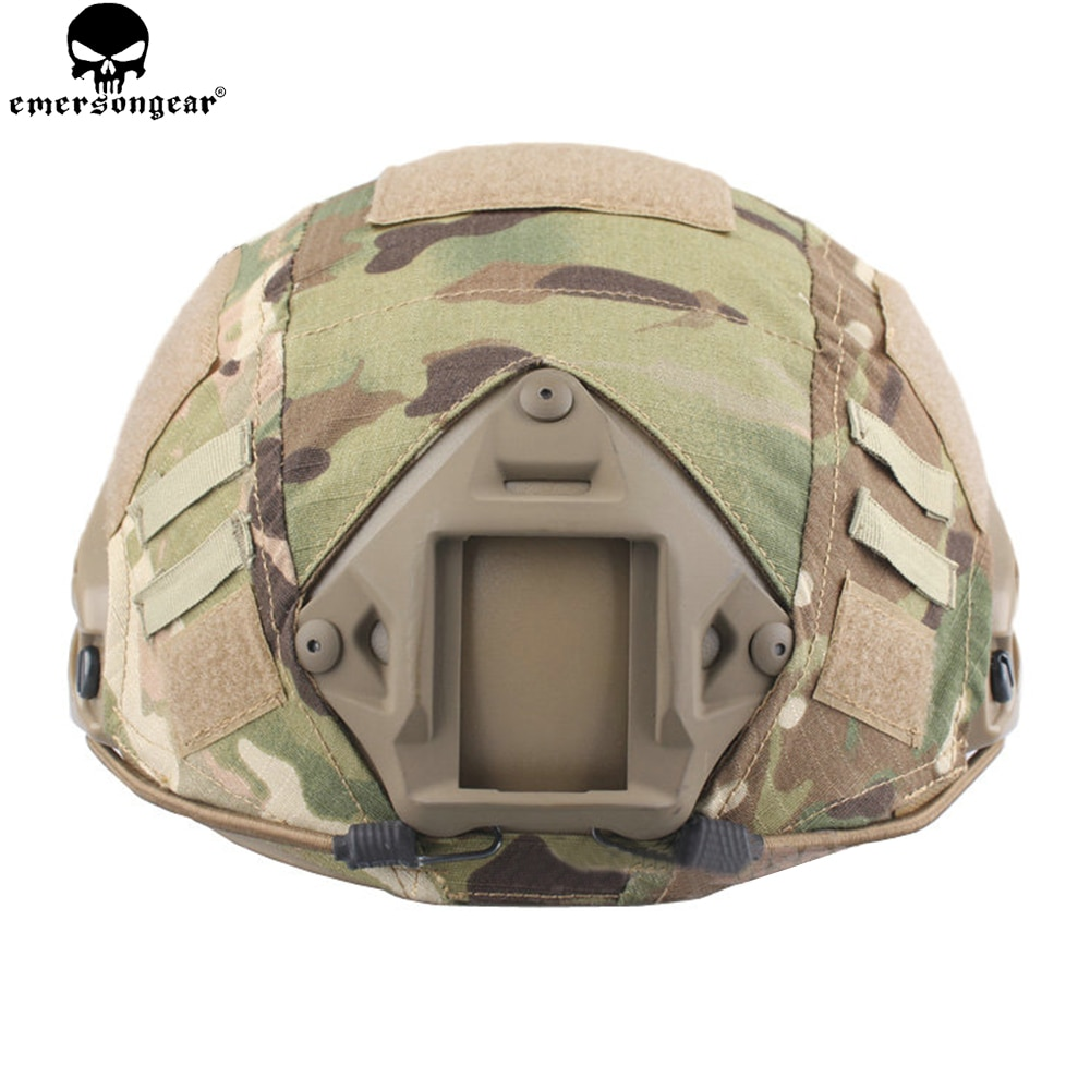 EMERSONGEAR, funda de casco táctico rápido, accesorios para casco rápido, funda de casco BJ/PJ/MH, funda de casco de Multicam EMERSON EM8825