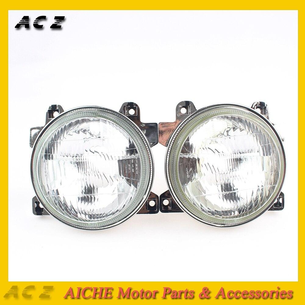 Faros delanteros de motocicleta ACZ (Sin bombilla) para Honda CBR250 NC19 NC22 CBR400 NC23 NC29 VFR400 NC30