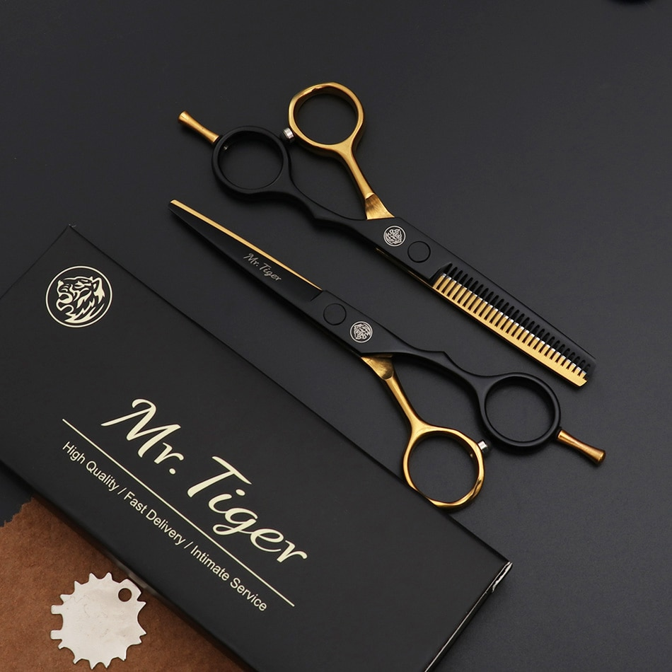 Japan Original 5.5 6.0 Professional Hairdressing Scissors Professional Barber Scissors Set Hair Cutting Shears Scissor Haircut