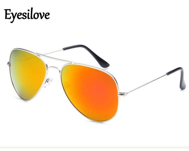 Eyesilove cheap classic sunglasses fashion men women metal Sun glasses for Driving mirror Coating ga