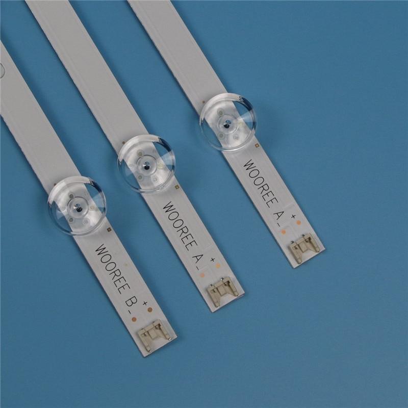 "6 lâmpadas led backlight strip para lg 32lb628u 32lf550u 32lf562u 32lf564v 32lf620u barras kit televisão led bandas innotek 32 ""drt3.0"