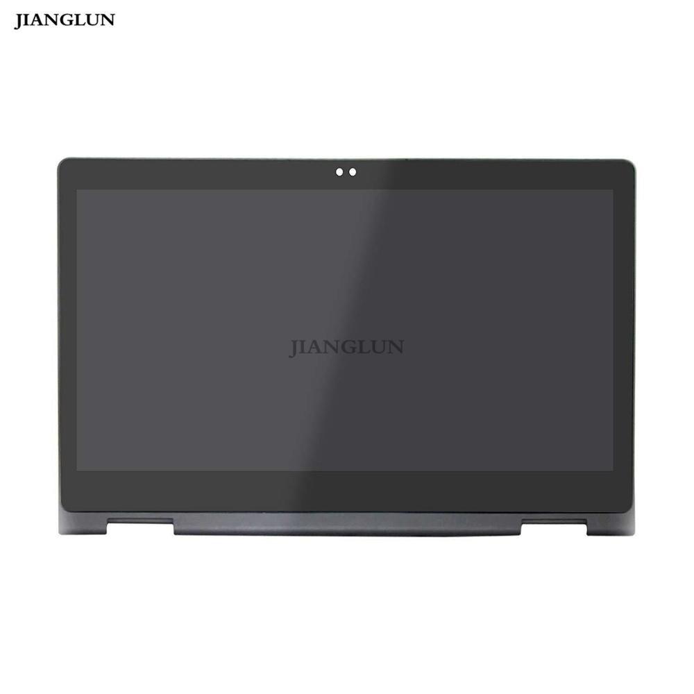 JIANGLUN 13.3 'FHD LCD تعمل باللمس + الحافة لديل انسبايرون 5368 5378 النواة i5 i7 فقط 40pin 1920x1080 1H0JY