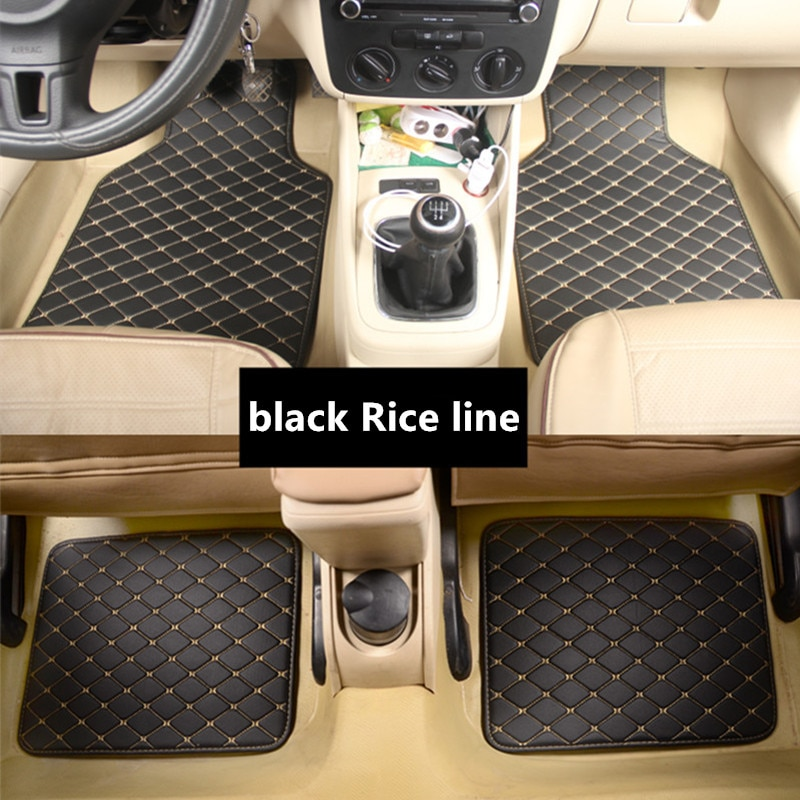 Alfombrilla de pies para suelo de coche para renault fluence laguna 3, kadjar latitude talismán kangoo, accesorios impermeables, alfombra