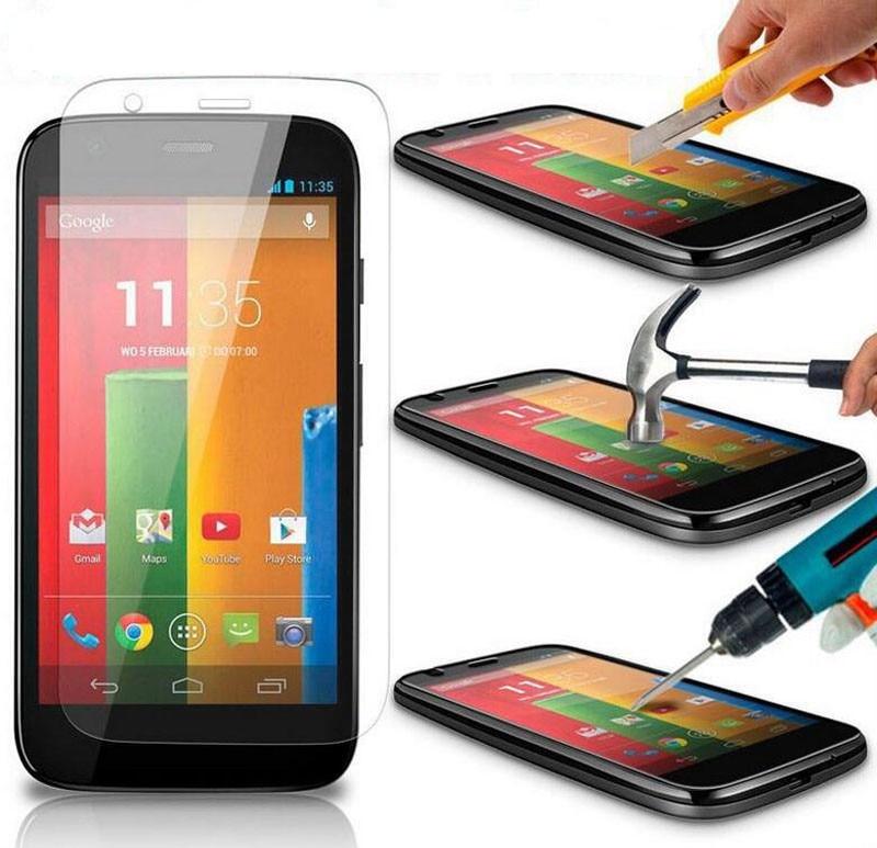 2PCS Screen Protector sFor Motorola Moto G2 Glass 9H 2.5 D Tempered Glass For Motorola Moto G2 For Moto G2 Anti-scratch Film