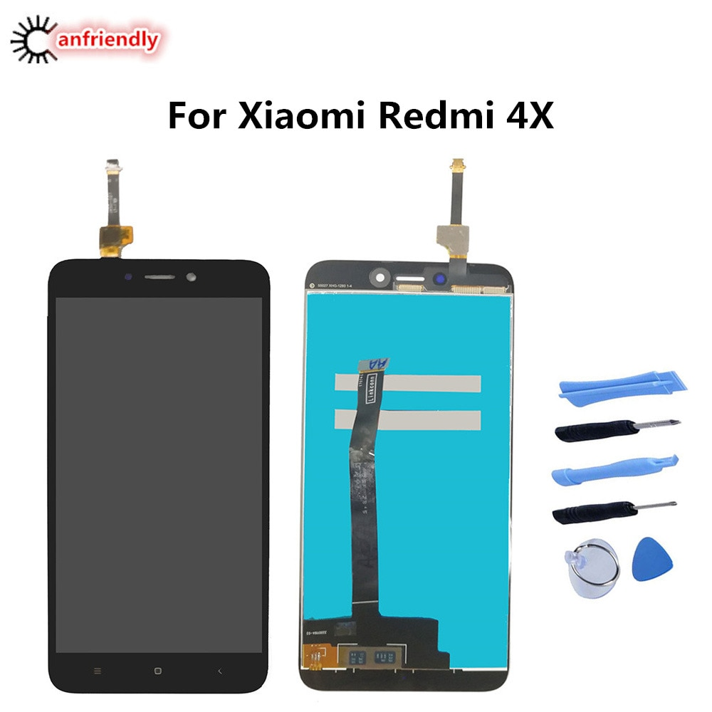For Xiaomi Redmi 4X 4 X LCD Display+Touch Screen Replacement Digitizer Assembly For Xiaomi Redmi 4X display glass repair lcds