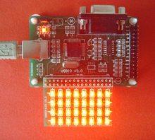 USB2.0   Interrupteur bidirectionnel multifonctionnel 32 voies, commande de relais et autres, panneau de lampe dessai cadeau