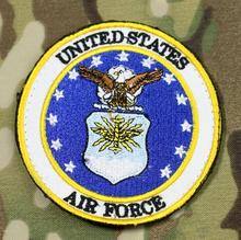 Broderie de larmée de lair des états-unis   Patch tactique de larmée, moral militaire, Badge déquipement CS 10 pièces