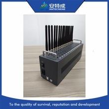 16 ports bas prix multi sim gsm modem/gsm sms dispositif denvoi, IMEI modifiable et modem SIM