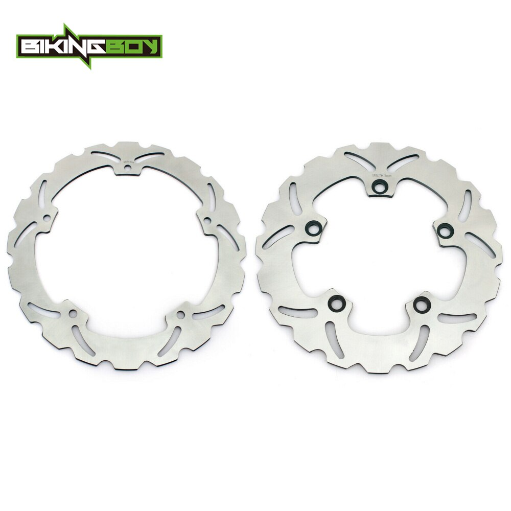BIKINGBOY disques de frein avant arrière disques Rotors CTX 700 D N ND / ABS NC 700 NC750 S X Integra NM4 750 Vultus ABS 16 17 18 19 20