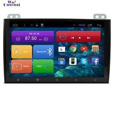 Wanhabituel-carte 9 pouces Quad Core 16G Android 6.0   GPS, Navigation pour Toyota Prado 120 2008 2009 2010, avec Bluetooth 3G Wifi 1024*600